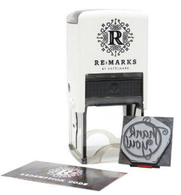 Designer Address Stamp