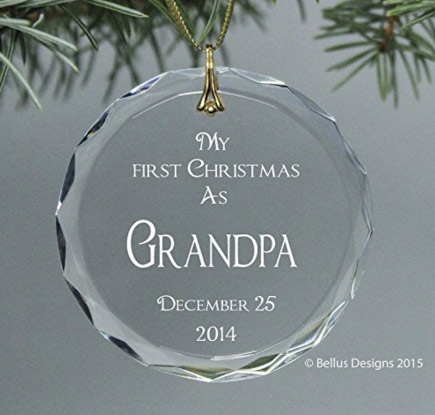 Personalized Grandparent Christmas Ornament