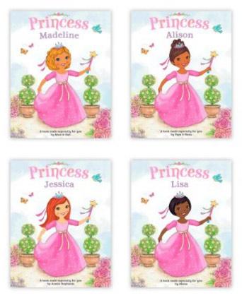 Children Personalized Hallmark Books