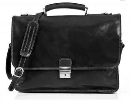 Monogrammed Men's Laptop / Briefcase