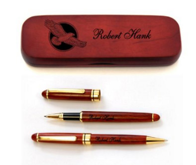 Personalized Rosewood Pens for Men