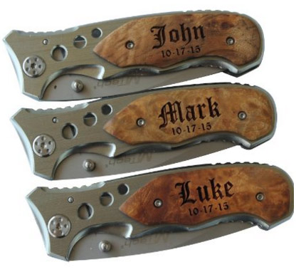 Personalized Pocket Folding Knife