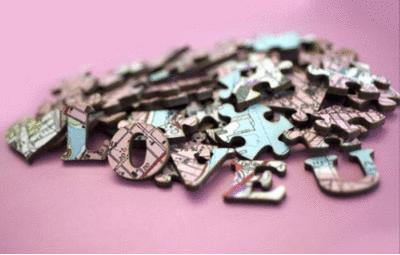 Romantic Personalized Jigsaws