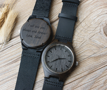 Personalized Wooden Watch Groomsmen