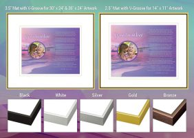 Grandmother Sunset Beach Frame and Mat Choices