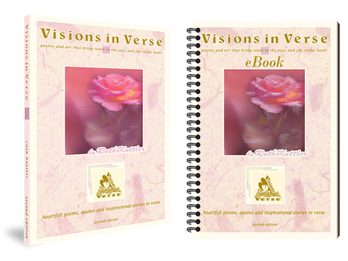 Visions in Verse Book Inspirational Poetry Book and eBook Bundle